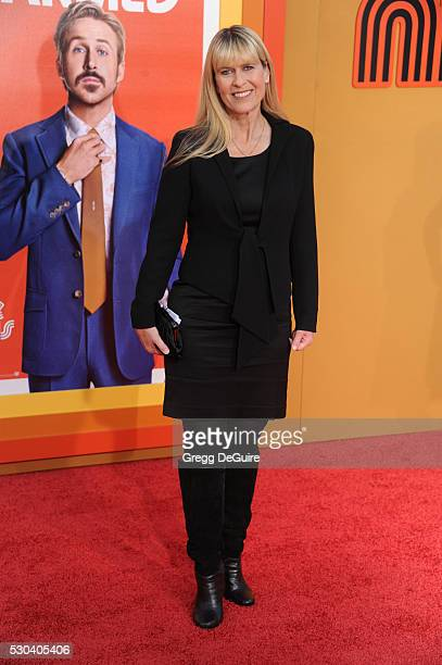 Terri Irwin arrives at the premiere of Warner Bros Pictures' 'The Nice Guys' at TCL Chinese Theatre on May 10 2016 in Hollywood California