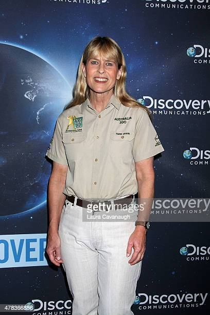 Terri Irwin attends the Discovery 30th Anniversary Celebration at The Paley Center for Media on June 24 2015 in New York City