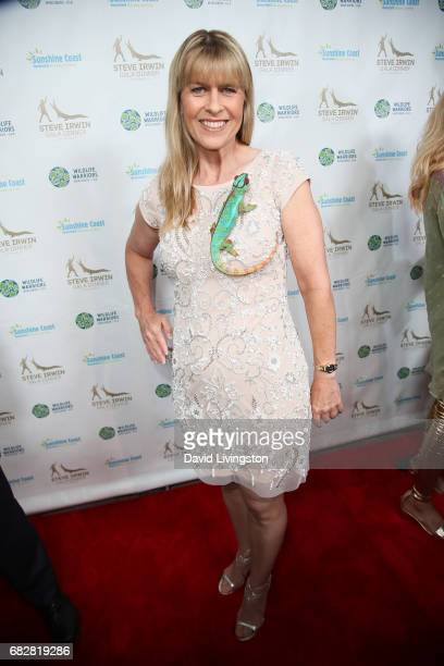 Terri Irwin attends the Steve Irwin Gala Dinner at the SLS Hotel at Beverly Hills on May 13 2017 in Los Angeles California
