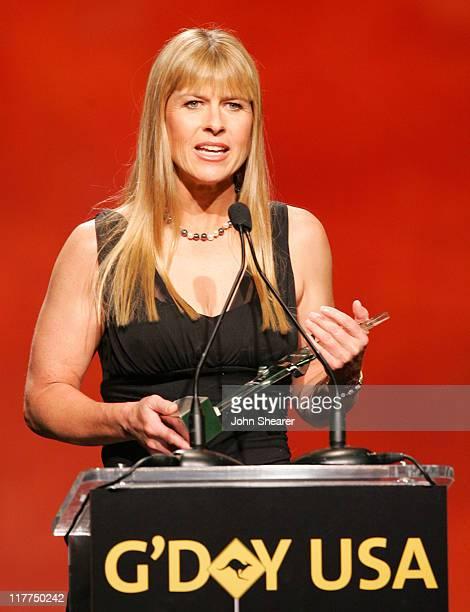 Terri Irwin during 2007 Australia Week Gala Show in Los Angeles California United States