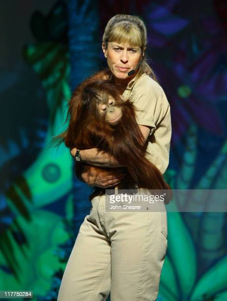 Terri Irwin during G'Day USA Aussie Family Concert at LA Music Center Ahmanson Theater in Los Angeles California United States