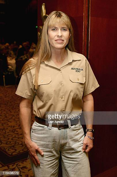 Terri Irwin poses during a promotional tour for her new book 'My Steve' at the Four Seasons Hotel on December 3 2007 in Sydney Australia