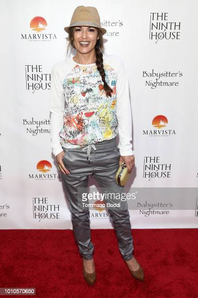 Terri Ivens attends the Red Carpet Screening Of Babysitter's Nightmare By The Ninth House And MarVista Entertainment held at Garry Marshall Theatre...