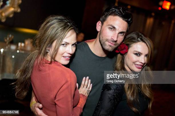 Terri Ivens Erik Fellows and Lilly Melgar attend the Gregori J Martin Birthday Party at Paloma on May 3 2018 in Los Angeles California