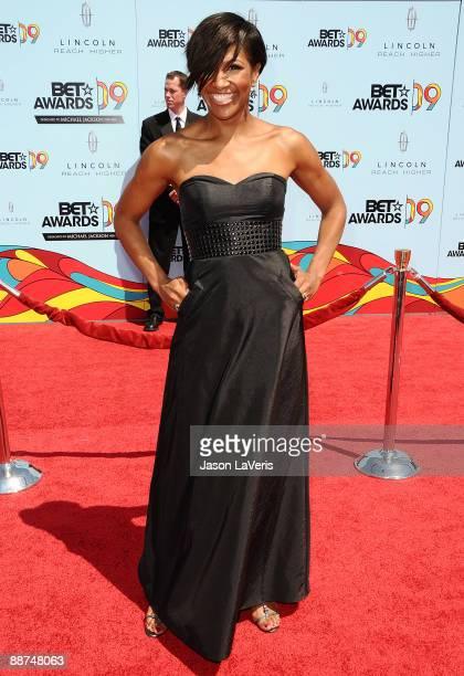 Terri J Vaughn attends the 2009 BET Awards at The Shrine Auditorium on June 28 2009 in Los Angeles California
