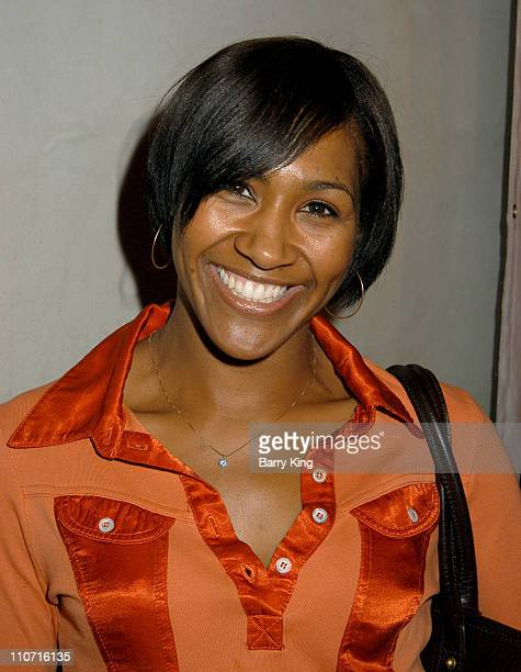 Terri J Vaughn during Deezer D Album Listening Party For I Ain't 4 Everybody at The Concorde in Hollywood California United States