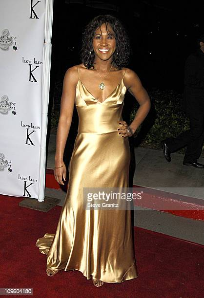 Terri J Vaughn during Elevate Hope Foundation Circle of Passion Arrivals at Astra Lounge in West Hollywood California United States