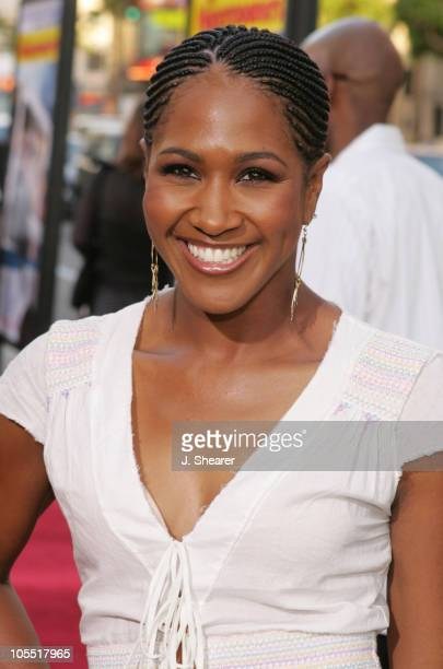 Terri J Vaughn during The Honeymooners Los Angeles Premiere Red Carpet at Grauman's Chinese Theater in Hollywood California United States