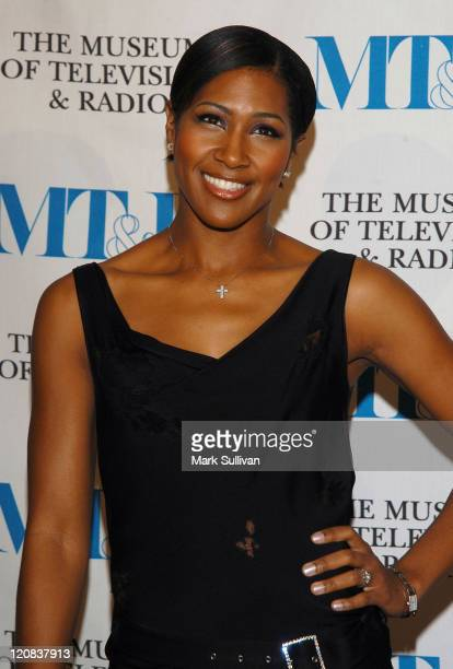 Terri J Vaughn during The Museum of Television and Radio Annual Los Angeles Gala Arrivals at The Beverly Hills Hotel in Beverly Hills California...