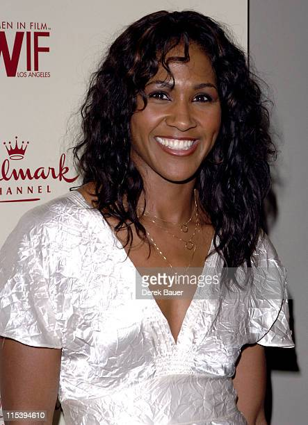 Terri J Vaughn during Women in Film and Hallmark Channel Honor Dr Maya Angelou at Academy of Motion Picture Arts and Sciences in Hollywood California...