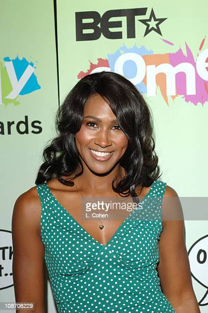 Terri J Vaughn of All of Us during 2005 BET Comedy Awards Press Conference at CBS Studios in Los Angeles California United States