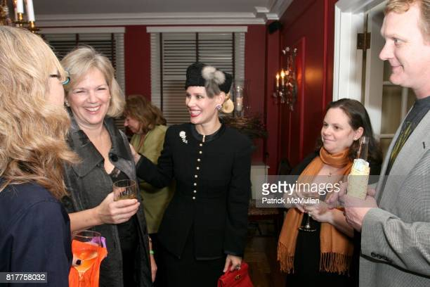 Terri Lindvall and MichelleMarie Heinemann attend Claudia Gabel celebrates the launch of her new book Romeo and Juliet and Vampires at 17 East 89th...