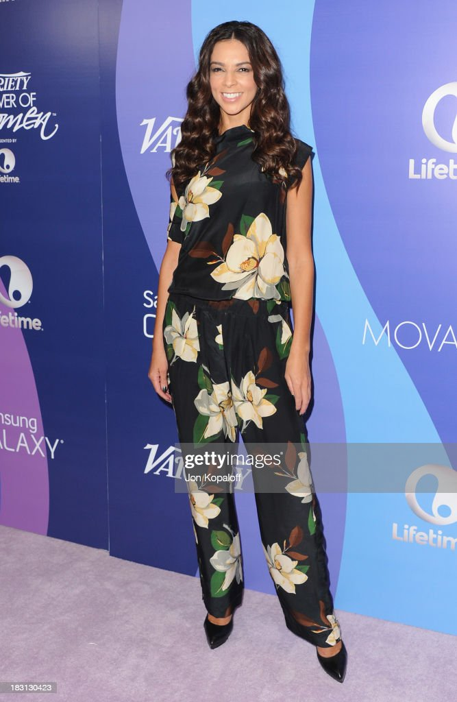 Terri Seymour arrives at Variety's 5th Annual Power Of Women Event at the Beverly Wilshire Four Seasons Hotel on October 4, 2013 in Beverly Hills, California.