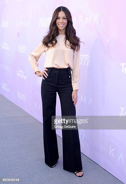 Terri Seymour arrives at Variety's Celebratory Brunch Event for Awards Nominees Benefitting Motion Picture Television Fund at Cecconi's on January 28...
