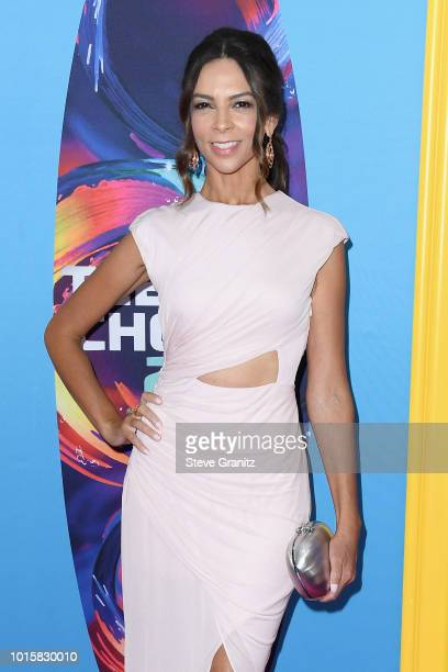 Terri Seymour attends FOX's Teen Choice Awards at The Forum on August 12 2018 in Inglewood California