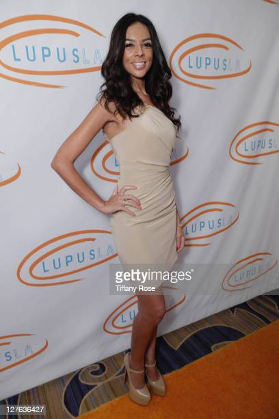 Terri Seymour attends the 11th Annual Lupus Los Angeles Orange Bowl Arrivals at the Beverly Wilshire Four Seasons Hotel on May 12 2011 in Beverly...