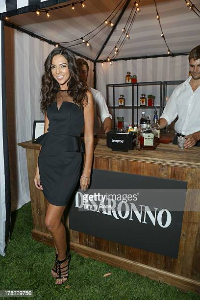 Terri Seymour attends the Disaronno Sunset Screening of Roman Holiday on August 22 2013 in Los Angeles California