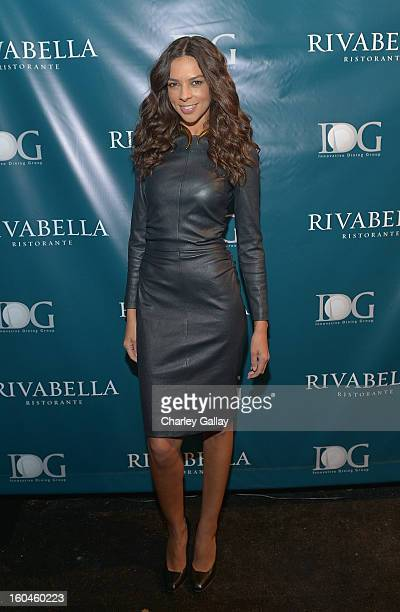 Terri Seymour attends the Grand Opening of RivaBella Ristorante on January 31 2013 in West Hollywood California