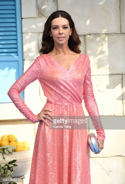 Terri Seymour attends the World Premiere of Mamma Mia Here We Go Again at Eventim Apollo on July 16 2018 in London England