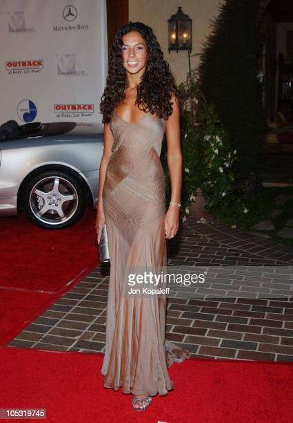 Terri Seymour during 6th Annual MercedesBenz DesignCure at Home of Sugar Ray and Bernadette Leonard in Pacific Palisades California United States