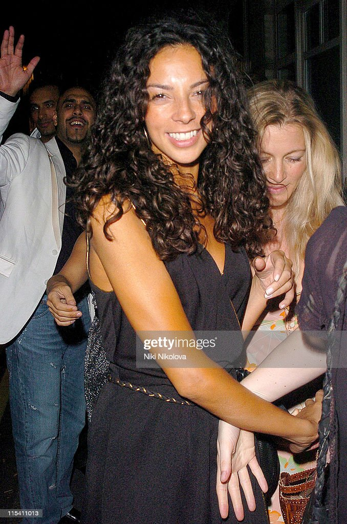 Celebrity Sighting in London - August 5, 2005