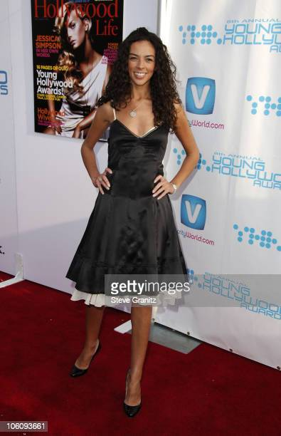 Terri Seymour during Movieline's Hollywood Life 8th Annual Young Hollywood Awards Arrivals at Music Box at The Fonda in Los Angeles California United...