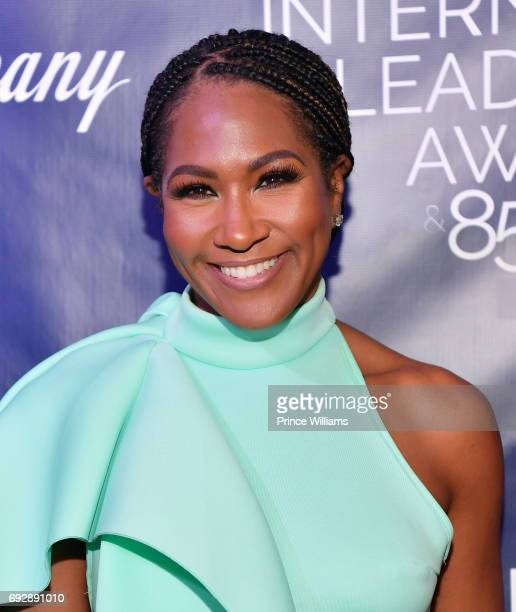 Terri Vaughn attends the 2017 Andrew Young International Leadership awards and 85th Birthday tribute at Philips Arena on June 3 2017 in Atlanta...