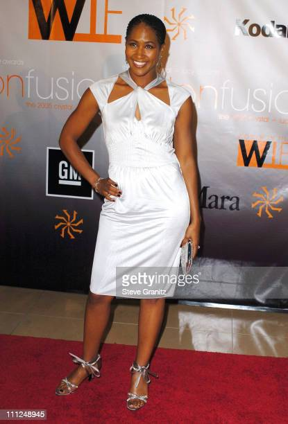 Terri Vaughn during 2005 Women In Film Crystal Lucy Awards Arrivals in Beverly Hills California United States