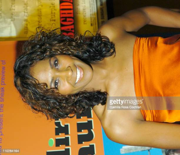 Terri Vaughn during HRC Presents Sneak Preview of Dirty Laundry May 19 2006 at HBO Building in New York City New York United States