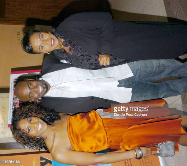 Terri Vaughn Maurice Jamal and Jenifer Lewis during HRC Presents Sneak Preview of Dirty Laundry May 19 2006 at HBO Building in New York City New York...