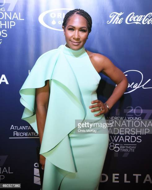 Terri Vaughn walks the red carpet at The 2017 Andrew Young International Leadership Awards and 85th Birthday Tribute at Philips Arena on June 3 2017...