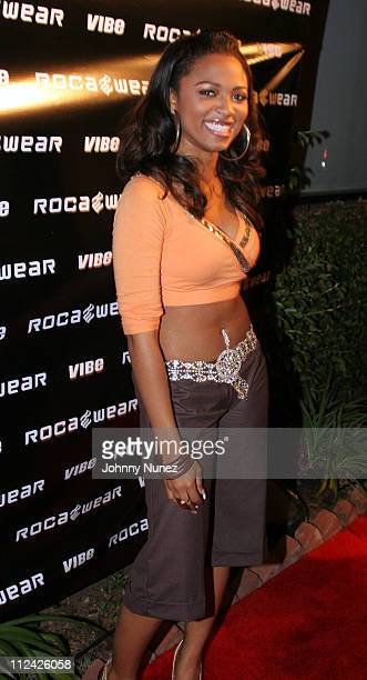 Terria Marie during Vibe Magazine Presents RocAWear 2005 Hosted By Jay Z at The Lowe Gallery in Los Angeles California United States