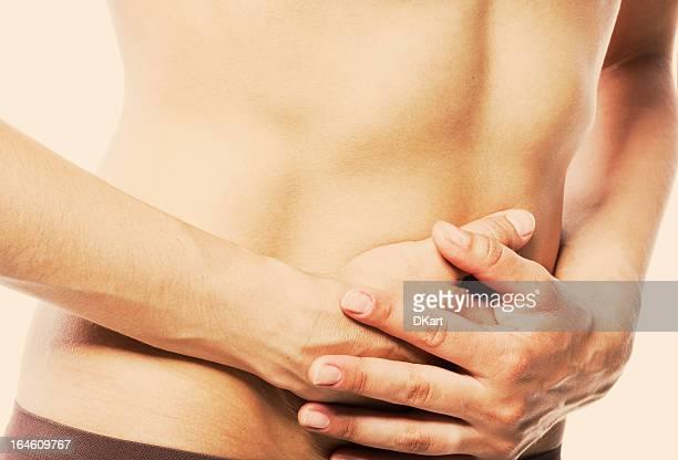Terrible douleurs à l'estomac-Jeunes femmes