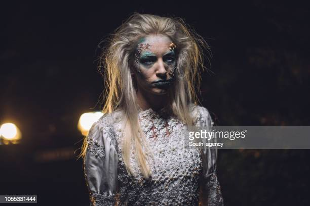 恐ろしい魔女のドレス