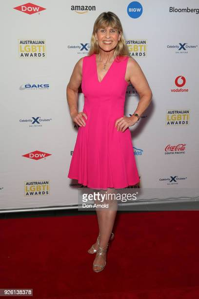TerriÊIrwin attends the Australian LGBTI Awards at The Star on March 2 2018 in Sydney Australia
