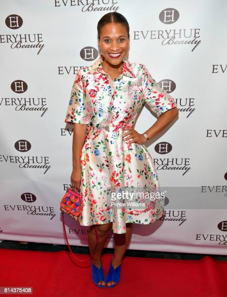 Terrinee L Gundy attends EveryHue PopUp shop at Swagg Boutique on July 13 2017 in Atlanta Georgia