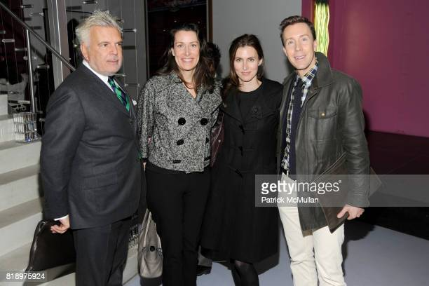 Terron Schaefer Caroline Dougherty Colleen Sherin and Eric Jennings attend CFDA 2010 Nominee Honoree Announcement Party Hosted by NADJA SWAROVSKI and...