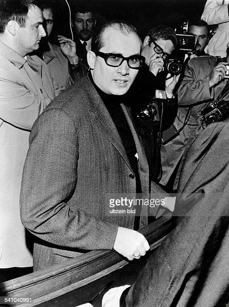 Terrorism in Germany Red Army Faction Horst Mahler *- Lawyer, Germany Horst Mahler during the trial against the liberation of Andreas Baader from...