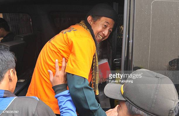 June 29: Terrorism suspect, Afif Abdul Majid smiles as he leaves the court on June 29, 2015 in Jakarta, Indonesia. An Indonesian court on June 29,...