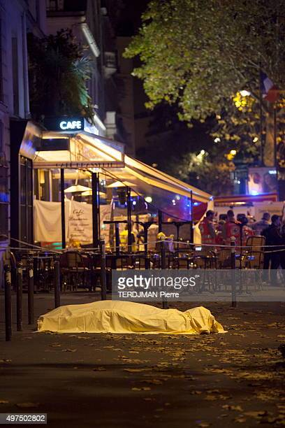 Terrorist attacks in Paris at the Bataclan concert hall, in the streets and pubs of the 11th district on November 13, 2015. Boulevard des...