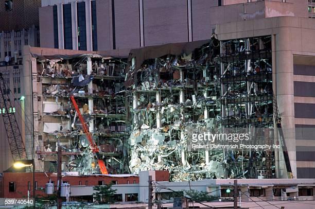 Terrorist Bomb Attack on Oklahoma Building