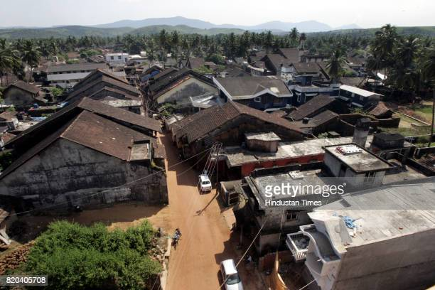 Terrorist Riyaz Bhatkal A top view of the Bhatkal village which is about 180 kilometers from Manglore
