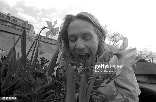 Terrorvision singer Tony Wright portrait London United Kingdom 1998