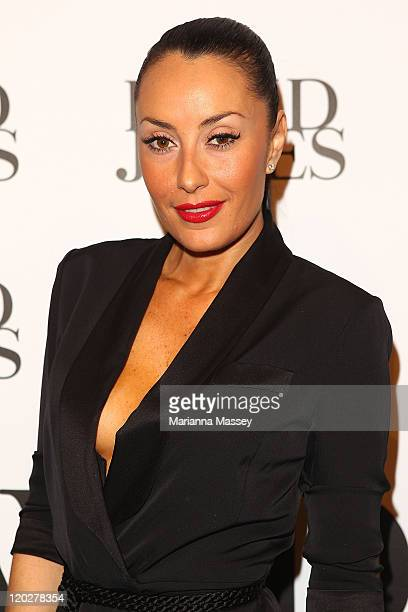 Terry Biviano arrives at the David Jones Spring/Summer 2011 season launch at the Royal Hall of Industries Moore Park on August 3 2011 in Sydney...