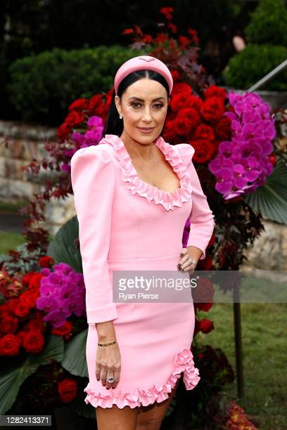 Terry Biviano attends the 2020 Melbourne Cup Carnival Sydney Launch at Vaucluse House on October 27 2020 in Sydney Australia