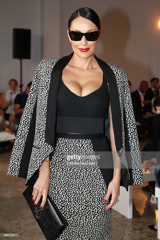 Terry Biviano attends the Ginger & Smart show at Mercedes-Benz Fashion Week Australia 2014 at Level 1 55 Mentmore Ave, Rosebery on April 8, 2014 in Sydney, Australia.