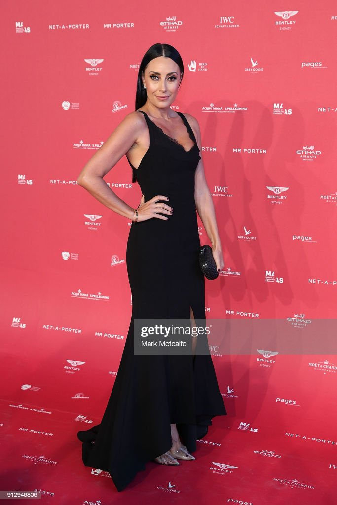 Terry Biviano attends the inaugural Museum of Applied Arts and Sciences (MAAS) Centre for Fashion Bal at Powerhouse Museum on February 1, 2018 in Sydney, Australia.
