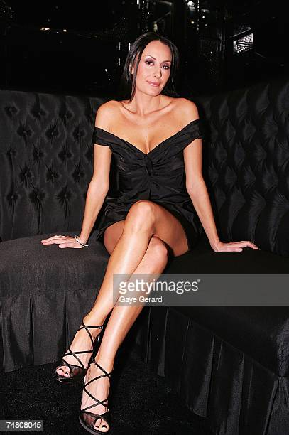 Terry Biviano Shoe Designer attends the launch of her new store at the Strand Arcade on June 19 2007 in Sydney Australia
