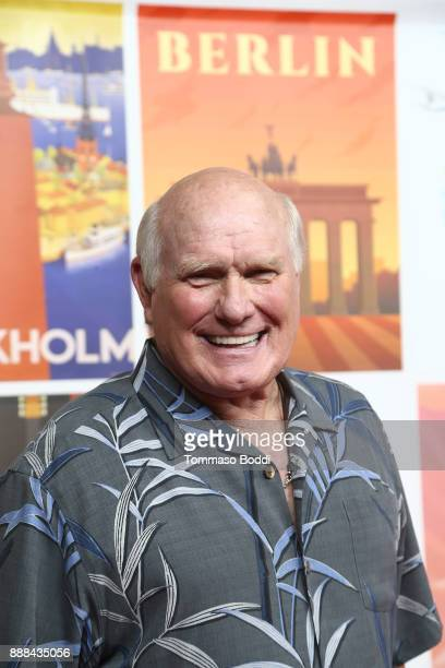 Terry Bradshaw attends the premiere of NBC's Better Late Than Never at Universal Studios Hollywood on November 29 2017 in Universal City California