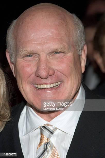 Terry Bradshaw during Failure to Launch New York City Premiere Arrivals at Clearview Chelsea West Theater in New York New York United States